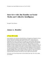Interview with Jim Hendler on Social Media and Collective Intelligence