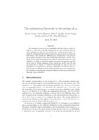 The arithmetical hierarchy in the setting of $\omega_1$