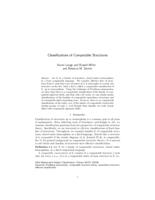 Classifications of Computable Structures