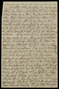 Letter from Sarah Whitney, Belmont, Massachusetts, to Anne Whitney, Rome, Italy, 1871 March 26