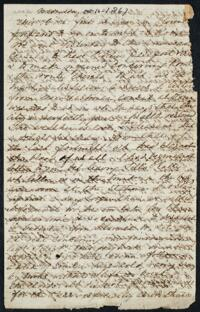 Letter from Anne Whitney, Florence, Italy, 1867 October 16
