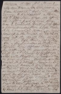 Letter from Anne Whitney, Bologna, Italy, 1868 September 18