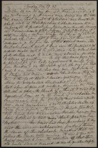 Letter from Sarah Whitney, to Anne Whitney, Rome, Italy, 1867 December 29