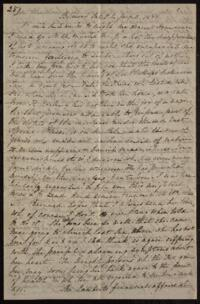 Letter from Sarah Whitney, Belmont, Massachusetts, to Anne Whitney, Rome, Italy, 1868 January 11