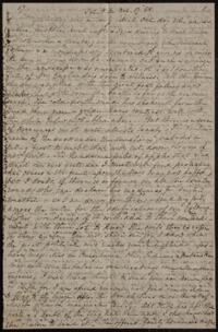 Letter from Sarah Whitney, to Anne Whitney, Rome, Italy, 1868 October 17