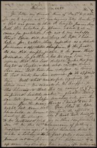Letter from Sarah Whitney, Belmont, Massachusetts, to Anne Whitney, Rome, Italy, 1868 November 30