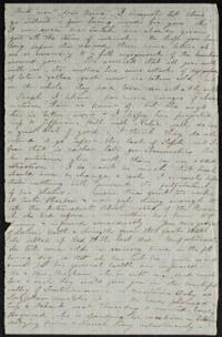 Letter from Edward Whitney, to Anne Whitney, 1867 July&#59 Letter from Caroline Rogers Whitney to Anne Whitney, 1867 July