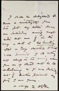 Letter from Harriet Goodhue Hosmer, Rome, Italy, to Anne Whitney, 1868