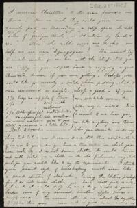 Letter from Caroline Rogers Whitney, to Anne Whitney, 1867 December 23