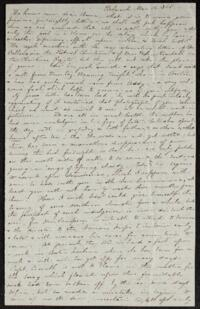 Letter from Caroline Rogers Whitney, Belmont, Massachusetts, to Anne Whitney, 1868 March 16