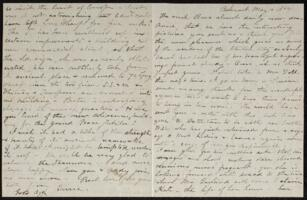 Letter from Caroline Rogers Whitney, Belmont, Massachusetts, to Anne Whitney, 1869 May 10