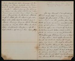 Letter from Sarah Whitney, to Anne Whitney, between 1860 and 1870