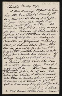Letter from Anne Whitney, to Sarah Whitney, 1885 January 5