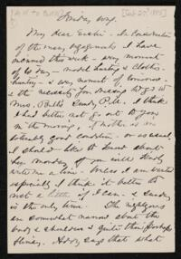 Letter from Anne Whitney, to Sarah Whitney, 1885 February 27