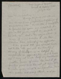 Letter from Alice Stone Blackwell, Roxbury, Massachusetts, to Anne Whitney, 1913 July 9