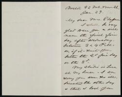 Letter from Anne Whitney, Boston, Massachusetts, to Maria Weston Chapman, 1878 January 23