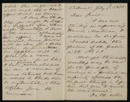 Letter from Anne Whitney, Belmont, Massachusetts, to Maria Weston Chapman, 1878 July 7