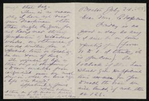Letter from Anne Whitney, Boston, Massachusetts, to Maria Weston Chapman, 1878 July 24