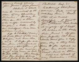 Letter from Anne Whitney, Boston, Massachusetts, to Maria Weston Chapman, 1878 August 25