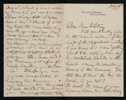 Letter from Sarah B. Fay, Pomfret Centre, Connecticut, to Anne Whitney, Shelburne, New Hampshire, 1898 July 28