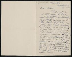 Letter from Annie Adams Fields, Manchester, Massachusetts, to Anne Whitney, Plymouth, Massachusetts, 1906 June 21