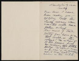 Letter from Annie Adams Fields, Manchester, Massachusetts, to Anne Whitney, Plymouth, Massachusetts, 1906 September 2