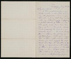 Letter from Francis Jackson Garrison, Rockledge, to Anne Whitney, 1883 January 28