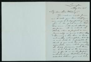Letter from Francis Jackson Garrison, Lexington, to Anne Whitney, Boston, Massachusetts, 1906 May 24