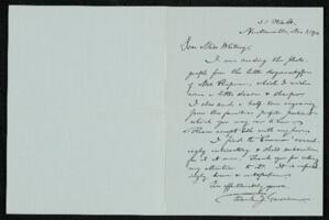 Letter from Francis Jackson Garrison, Newtonville, Massachusetts, to Anne Whitney, Boston, Massachusetts, 1912 November 3