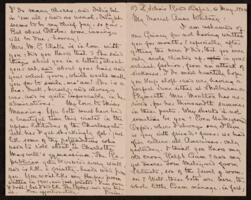 Letter from Louise Imogen Guiney, Oxford, to Anne Whitney, Shelburne, New Hampshire, 1904 May 6