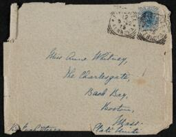 Letter from Vida Dutton Scudder, Florence, Italy, to Anne Whitney, Boston, Massachusetts, 1902 May 11