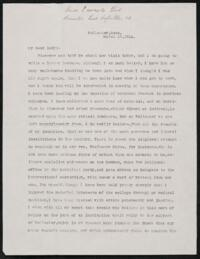 Letter from Vida Dutton Scudder, Wellesley, Massachusetts, to Anne Whitney, 1914 March 16