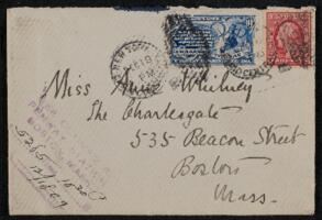 Letter from Antoinette Rotan Peterson, New York, New York, to Anne Whitney, Boston, Massachusetts, 1909 December 18