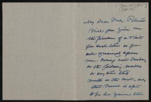 Letter from Anne Whitney, Boston, Massachusetts, to Antoinette Rotan Peterson, 1909 January 10