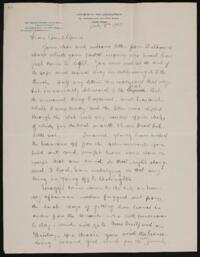 Letter from George S. Pratt, New York, New York, to Anne Whitney, 1903 July 8