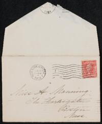 Letter from Margaret Whitney Pratt, New York, New York, to Adeline Manning, Boston, Massachusetts, 1904 February 17