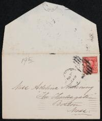 Letter from Margaret Whitney Pratt, New York, New York, to Adeline Manning, Boston, Massachusetts, 1904 February 19
