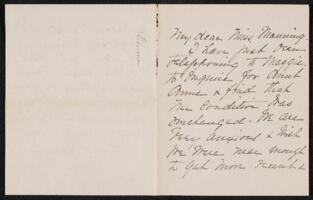 Letter from Emma Whitney Betts, to Adeline Manning, 1904 February 18