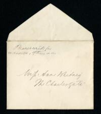 Letter from Ida Agassiz Higginson, Manchester by the Sea, Massachusetts, to Anne Whitney, 1914 April 27