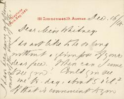Letter from Ida Agassiz Higginson, to Anne Whitney, 1914 December 16