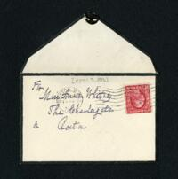 Letter from Erving Winslow, Boston, Massachusetts, to Anne Whitney, Boston, Massachusetts, 1913 April 3