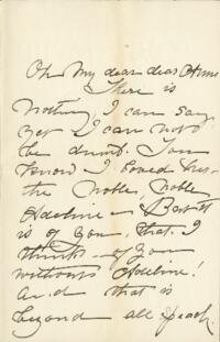 Letter from Fidelia Bridges, to Anne Whitney, 1906 May 22