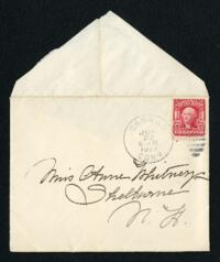 Letter from Fidelia Bridges, Canaan, Connecticut, to Anne Whitney, Shelburne, New Hampshire, 1907 June 28