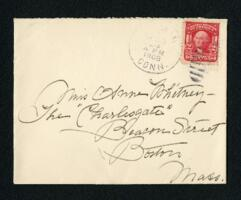 Letter from Fidelia Bridges, Canaan, Connecticut, to Anne Whitney, Boston, Massachusetts, 1908 March 23