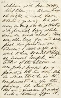Letter from Anne Whitney, to Adeline Manning, 1860 November