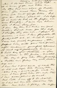 Letter from Anne Whitney, to Adeline Manning, 1871 December 31