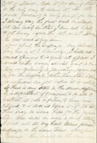 Letter from Adeline Manning, to Anne Whitney, 1872 March