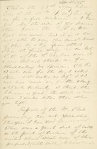 Letter from Anne Whitney, to Adeline Manning, 1875 March 21