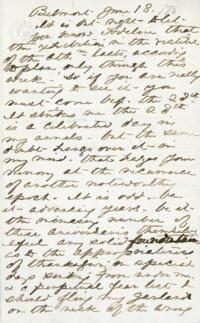 Letter from Anne Whitney, Belmont, Massachusetts, to Adeline Manning, 1876 June 18