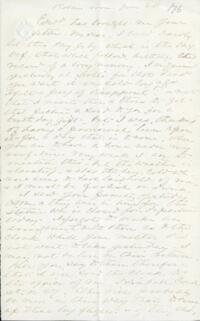 Letter from Adeline Manning, to Anne Whitney, 1876 June 28